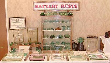 Overview of Richard Dawson's 2003 NIA Western Regional Battery Rest Display