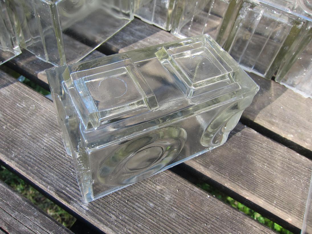 Condensation With Glass Bricks