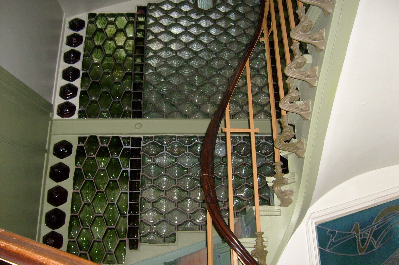 Gustave Falconnier S Glass Bricks At Castel B 233 Ranger