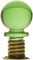 Charles Overmyer's Threaded Glass Drawer Knobs