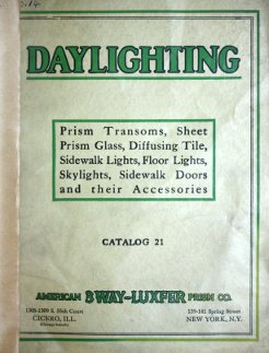 American 3-Way Luxfer Prism Company Daylighting catalog