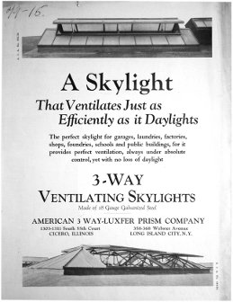 A Skylight that Ventilates Just as<br>Efficiently as it Daylights