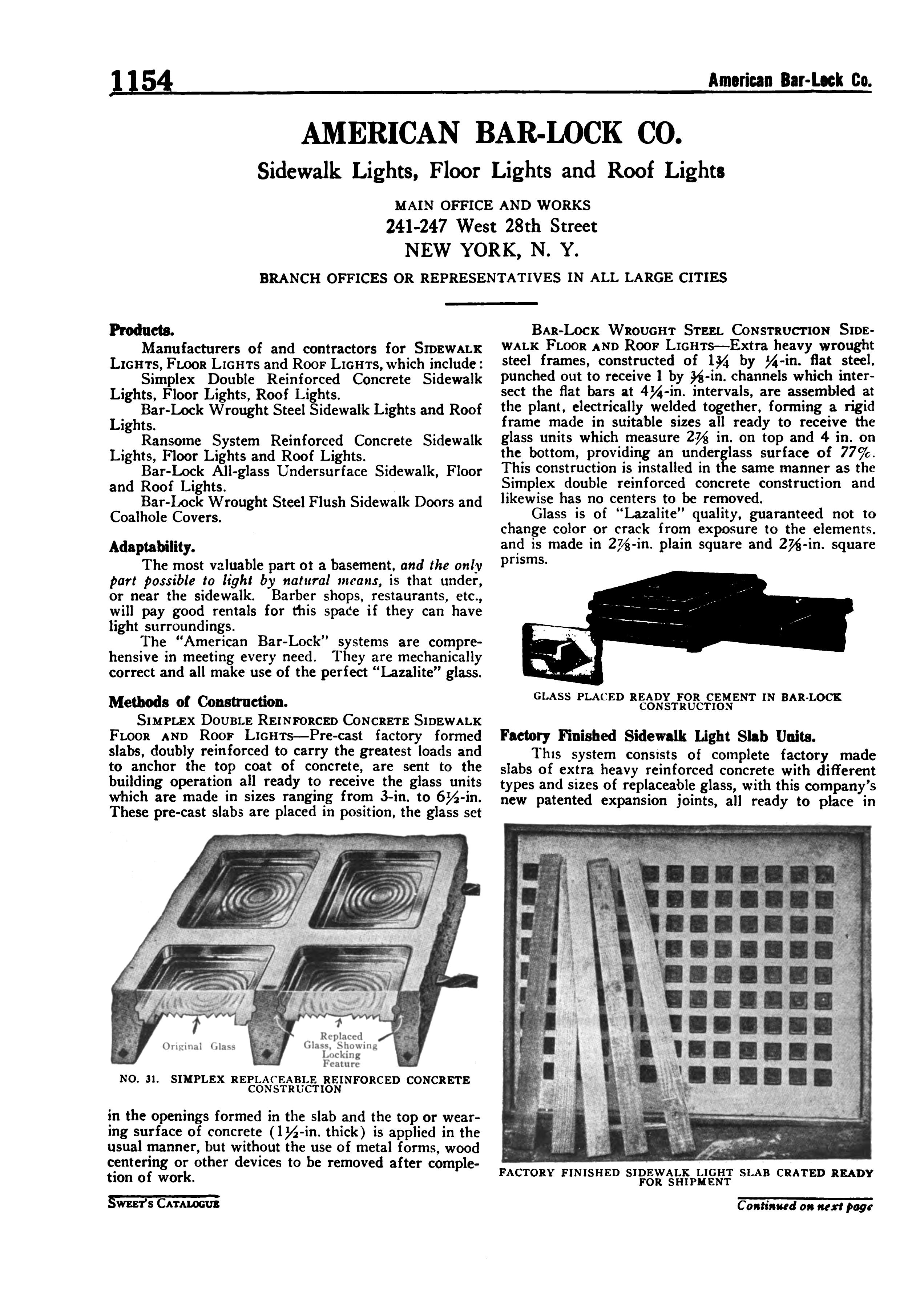 American Bar-Lock Company | glassian