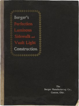 Berger's Perfection Luminous Sidewalk and Vault Light Construction