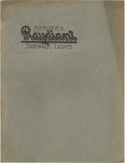 Berger's Raydiant Sidewalk Lights