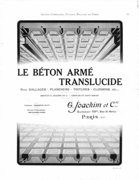 Catalogue Modèle de L'architecte, 1913