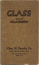 Glass and Glazing · Chas. H. Dauchy Co.