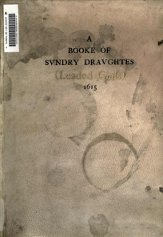 A Booke of Sundry Draughtes (Leaded Glass)