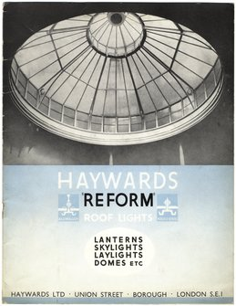 "Haywards ""Reform"" roof lights"