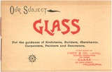 Our Subject—Glass