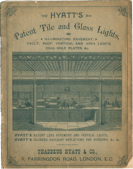 Hyatt's Patent Tile and Glass Lights