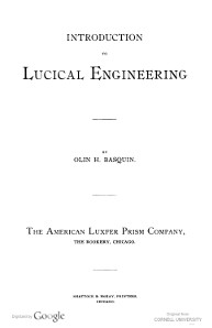 Introduction to Lucical Engineering