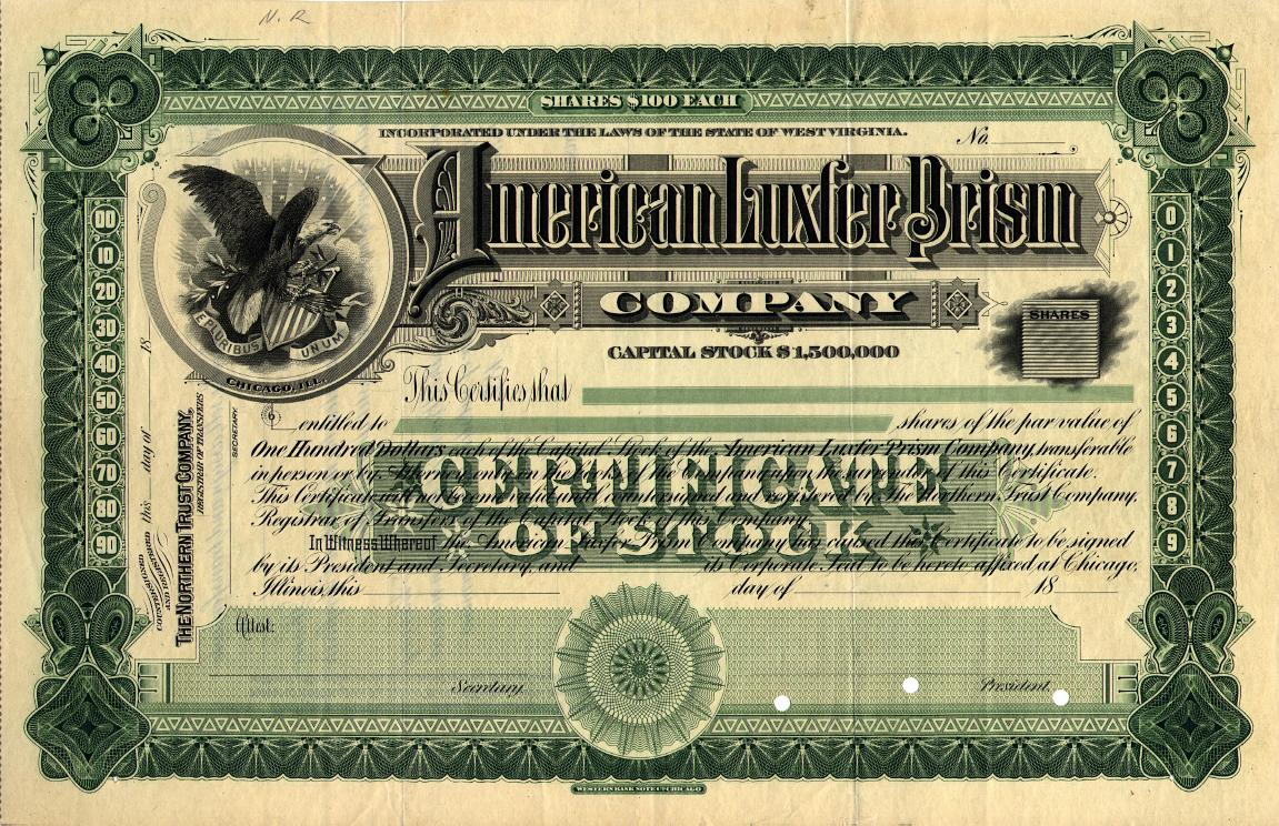how to get a paper stock certificate