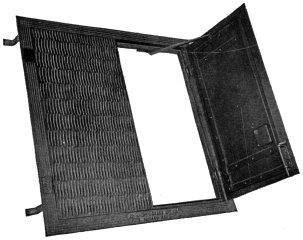 Flush Type Checkered Steel Sidewalk Door  sc 1 st  Glassian & Richards u0026 Kelly Manufacturing Co. · Sweetu0027s 1927-28   glassian pezcame.com