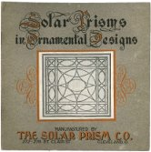 Solar Prisms in Ornamental Designs, by the Solar Prism Company